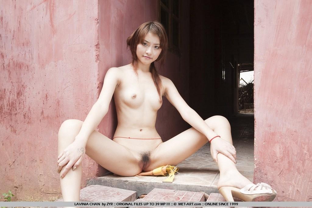 nude abbie chan Met art