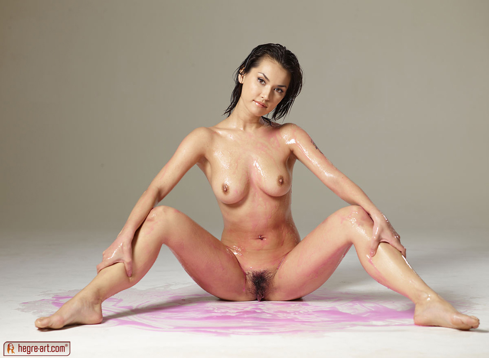 Maria ozawa naked oiled