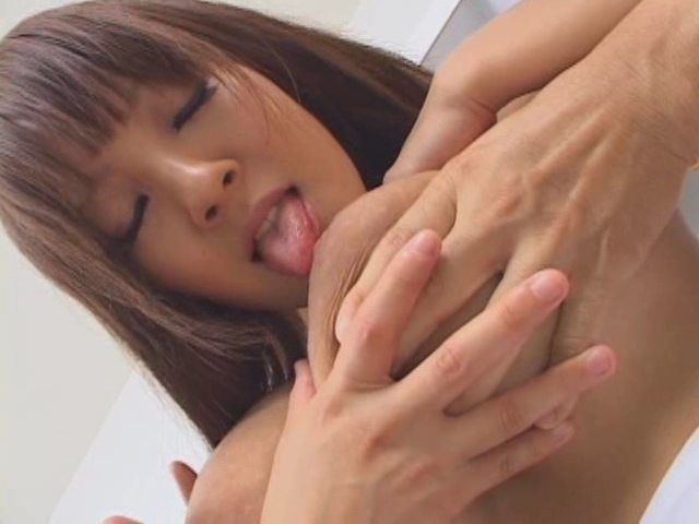 Hitomi Tanaka having sex her big boobs bouncing and cum in mouth - image  control.