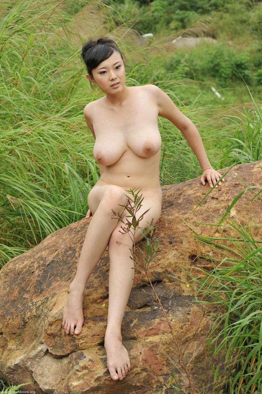 Chinese model nude bing
