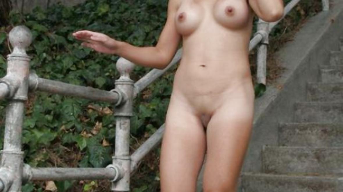 Walking around naked