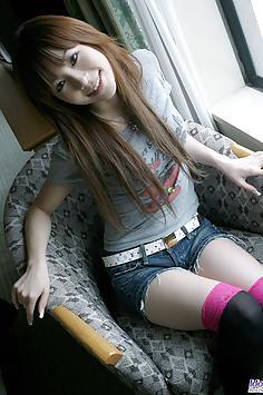 Hayase cute Japanese teen pics around Tokyo