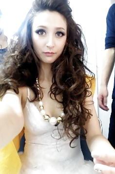 Leah Dizon filipina japanese singer and actress candid pics