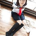 Japanese schoolgirl Shiryl in bondage - image control.gallery.php