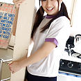 Hikari Yamaguchi with pigtails & tight shorts - image control.gallery.php