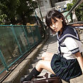 Yuzuki Hashimoto is totally cute in cosplay sailor uniform - image control.gallery.php